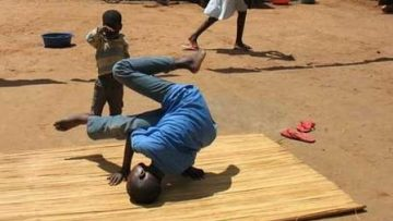 Breakdance z Ugandy